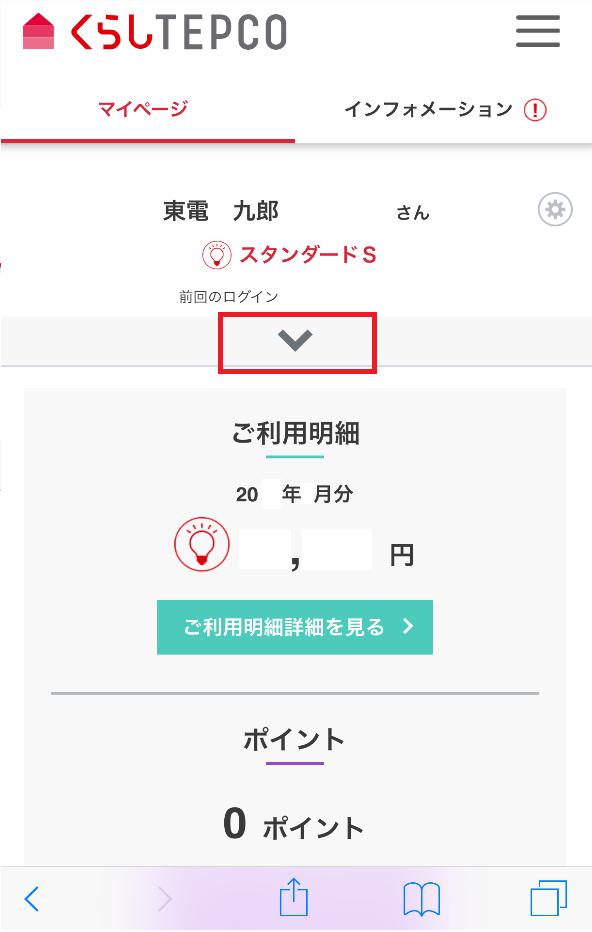 Web 検針 票 東京 電力